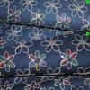 Jeans Pailletten Stickerei Blumen
