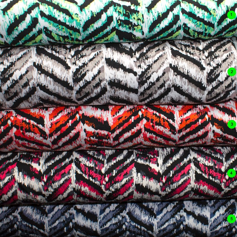 Jerseystoffe bedruckt [Öko-Tex]