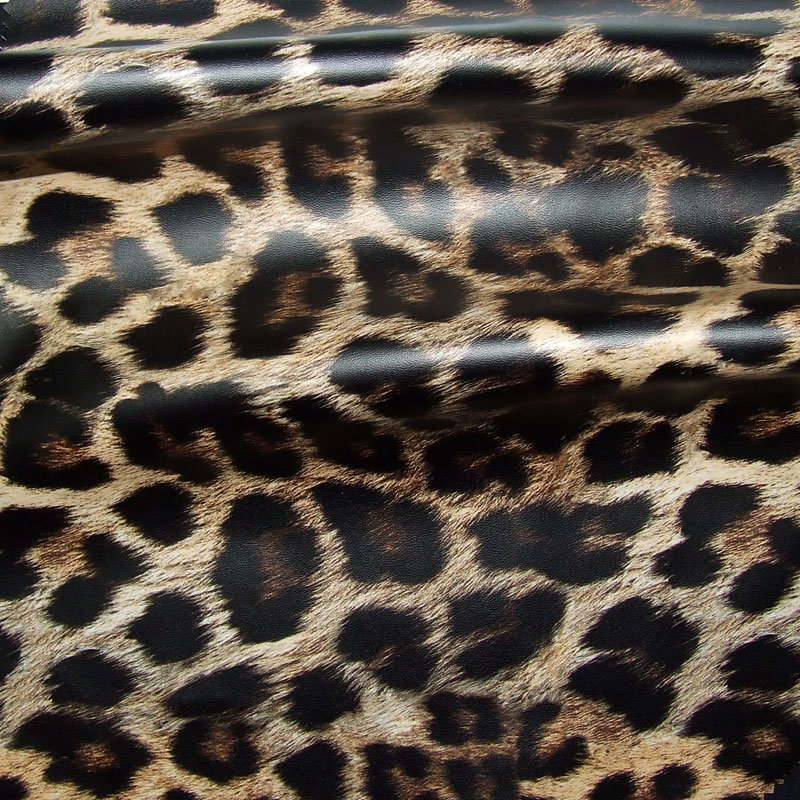 Stoff für Regenbekleidung Leo Optik