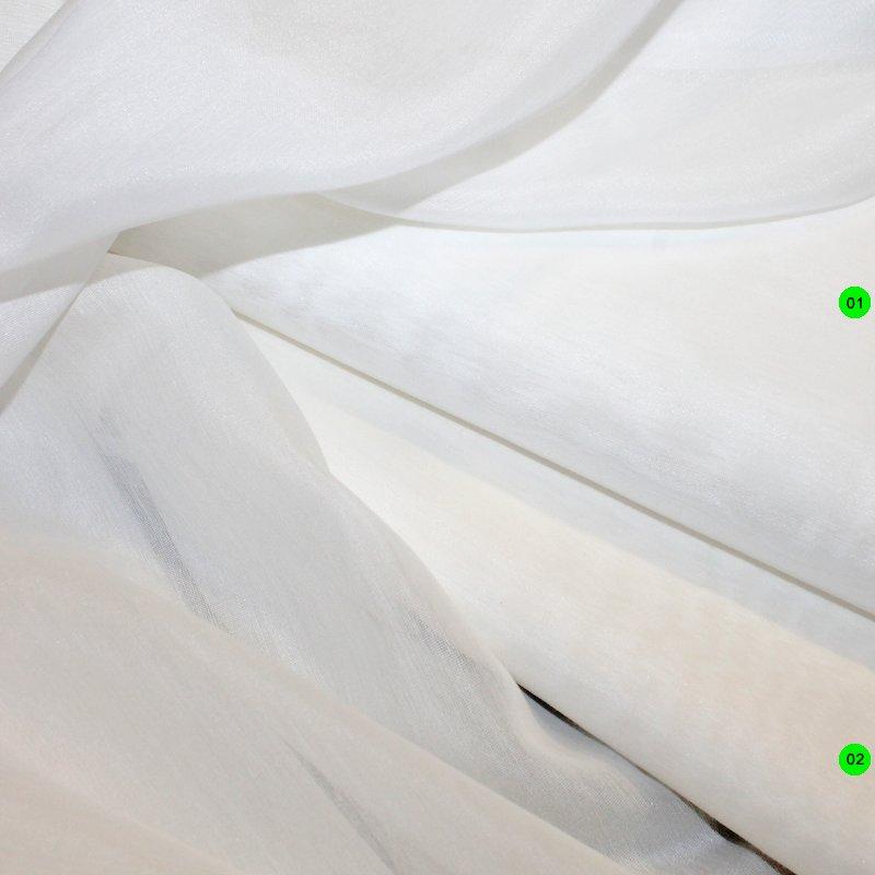 Blusenstoff Baumwolle/Seidenvoile