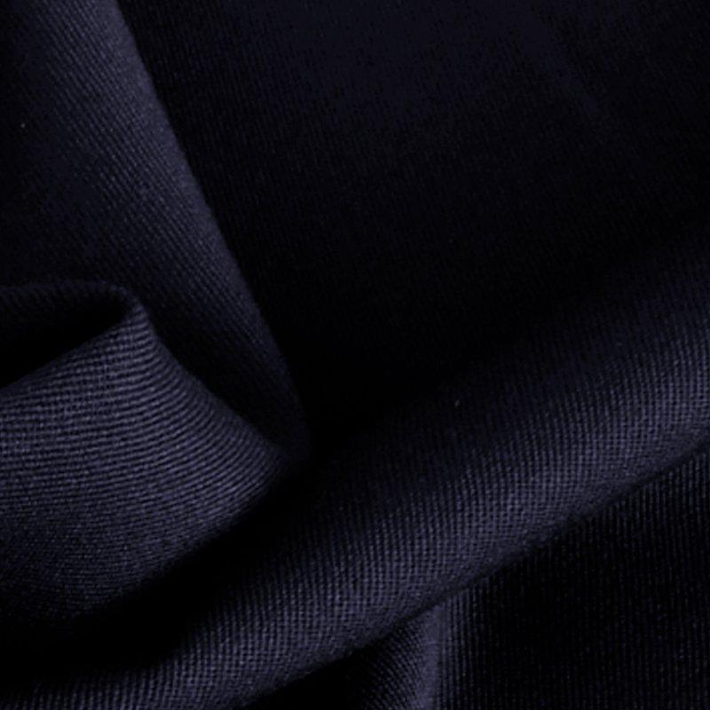 Feingabardine nachtblau