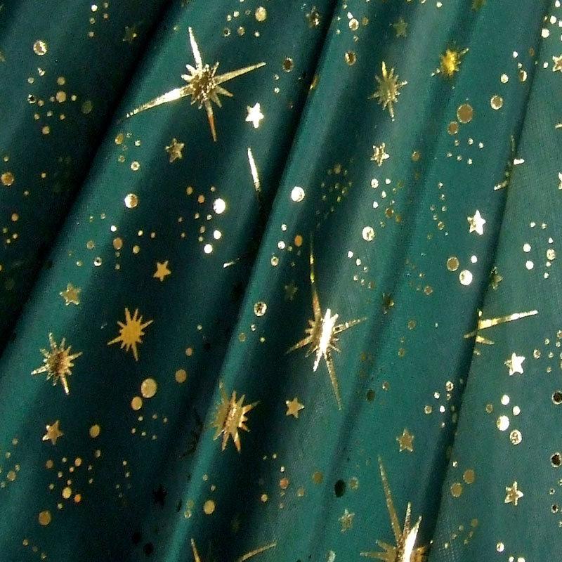 Folie Weihnachten Sternhimmel