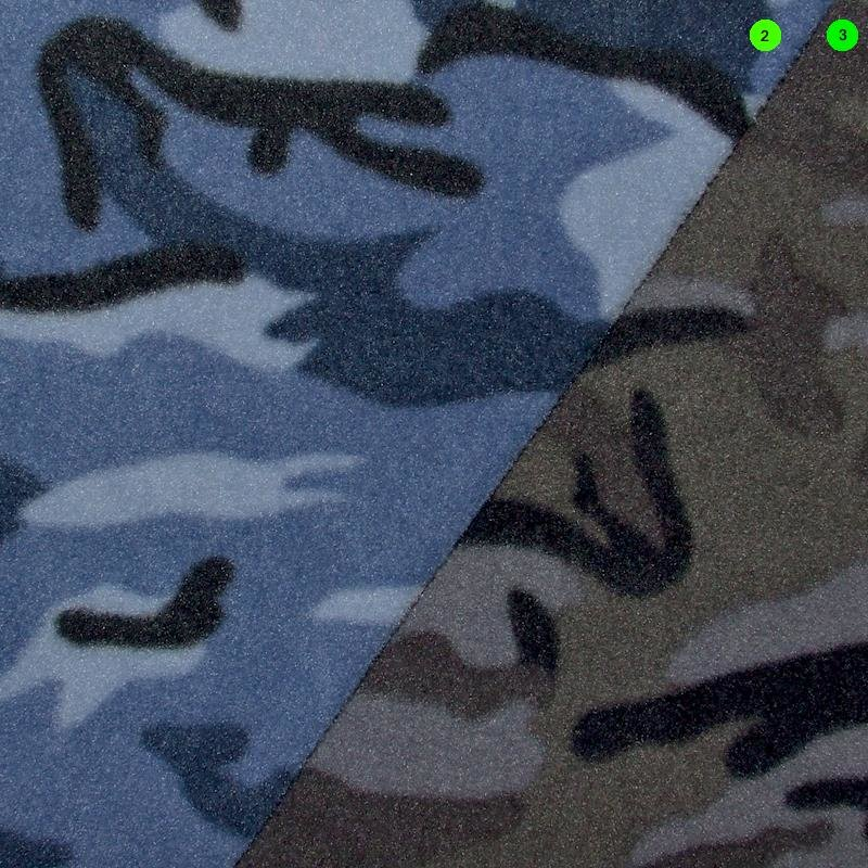 Anti Pilling Fleece Druck Camouflage
