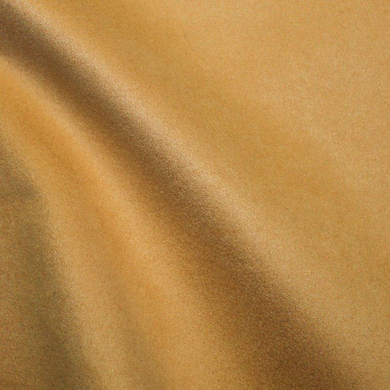 Möbelbezugsstoff schwer Wildlederimitat ocker