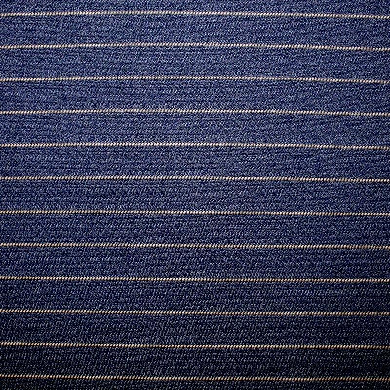 Möbelbezugsstoff schwer Nadelstreifen 15 mm jeansblau