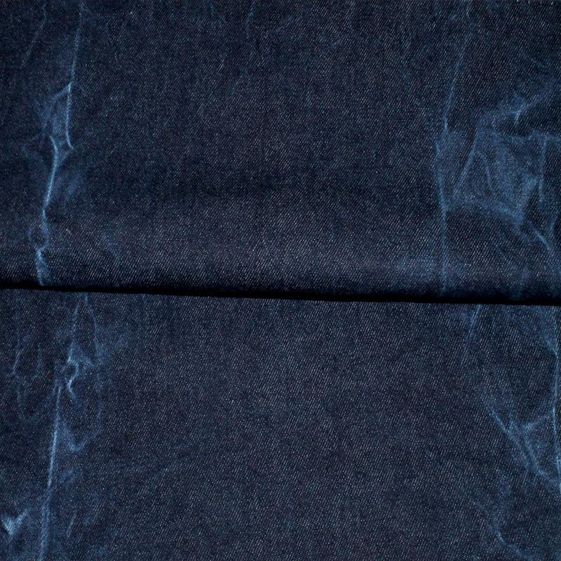 Batik Denim gewaschen dunkelblau 14 OZ