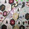 Feinpopeline Weihnachtsdruck Engel-Elch ÖkoTex
