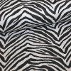 Querstretch bedruckt  Zebra