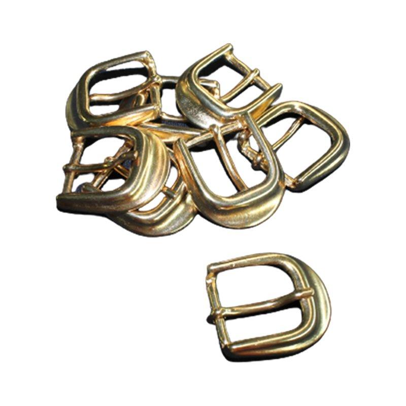 Gürtelschnalle mit Dorn 20 mm breit gold