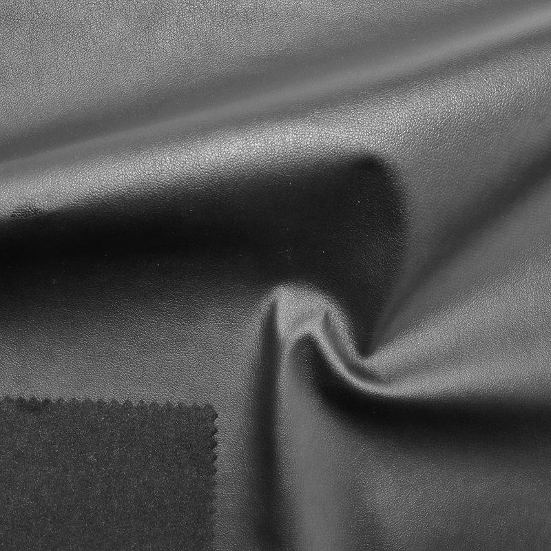 Nappa Lederimitat mit Velours-Rückseite