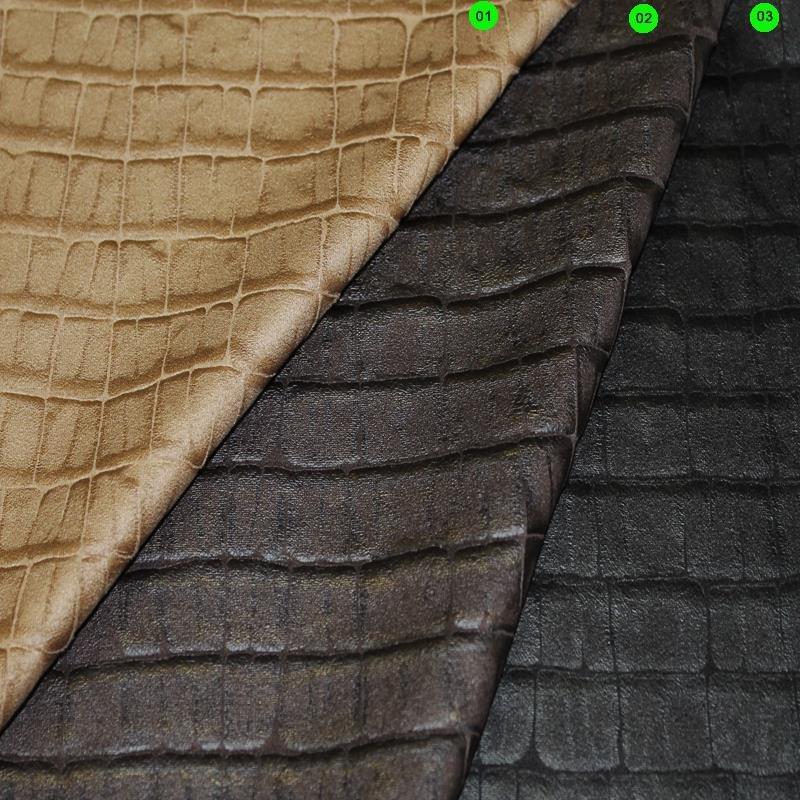 Velours-Lederimitat bi-elastisch Nappa