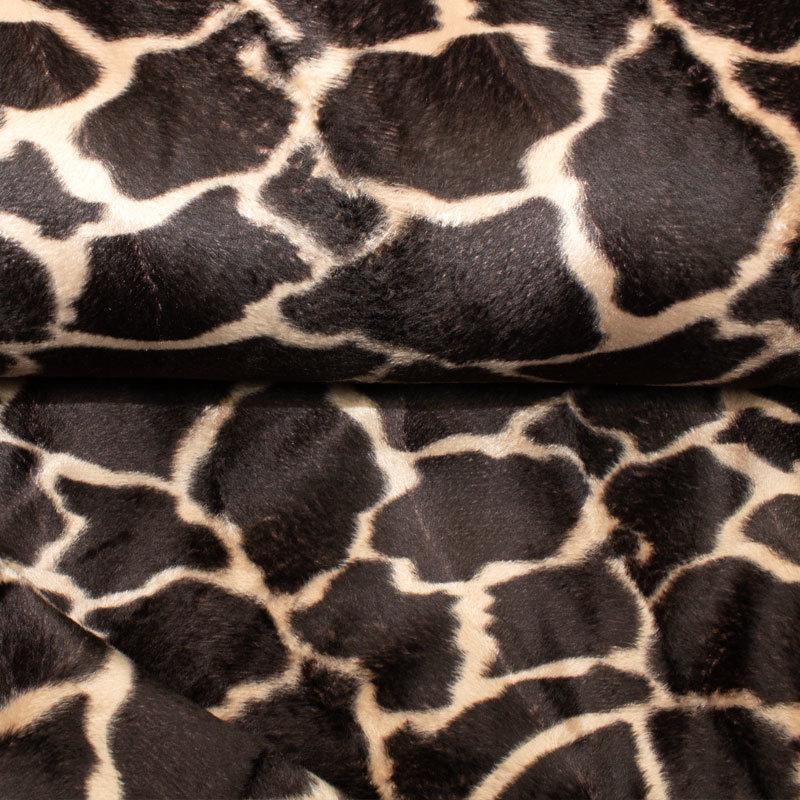 Fellimitat Giraffe beige-braun