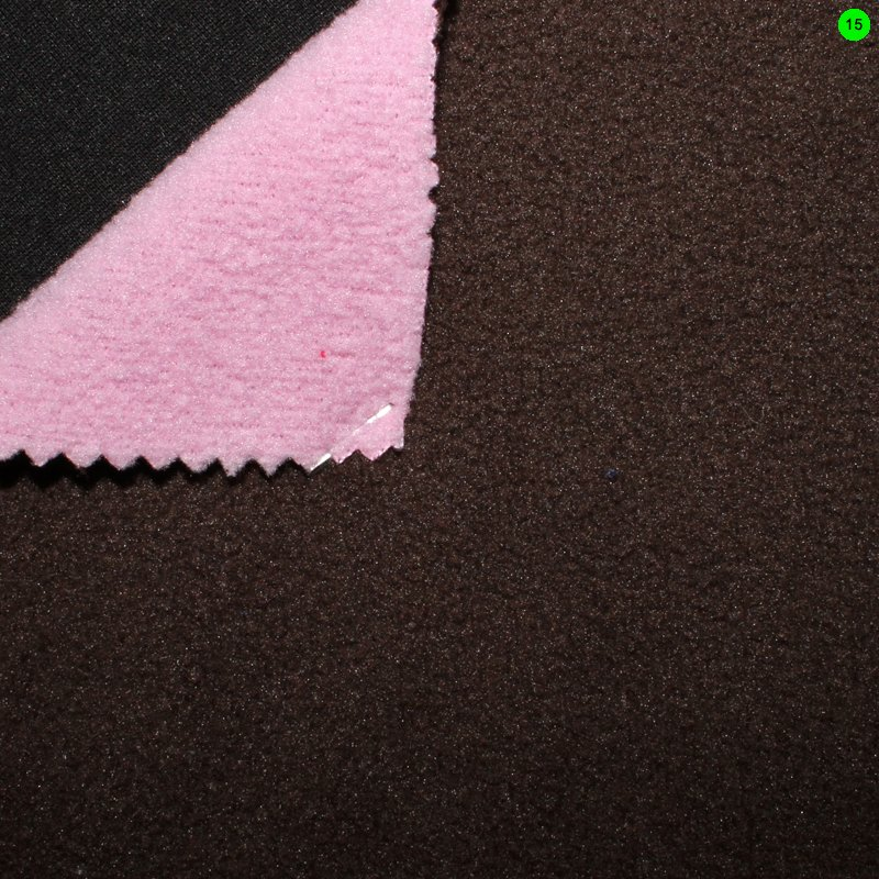 15 dunkelbraun-rosa